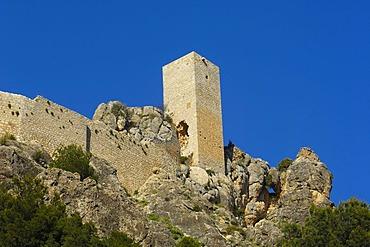 Penas Negras Castle, Tiscar Castle, Tiscar-Don Pedro, Quesada, Sierra de Cazorla, Segura y Las Villas Natural Park, province of Jaen, Andalusia, Spain, Europe