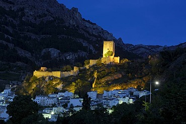 Yedra Castle in Cazorla village, Sierra de Cazorla Segura y Las Villas Natural Park, province of Jaen, Andalusia, Spain, Europe