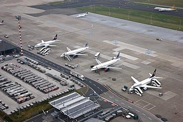 Duesseldorf International Airport, Duesseldorf, North Rhine-Westphalia, Germany, Europe