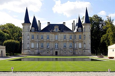 Chateau Lachesaye, vineyard, Medoc, Aquitaine, France, Europe