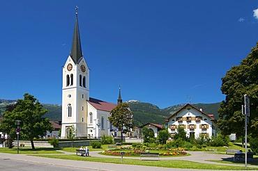 Riezlern, Kleinwalsertal, Little Walser Valley, Allgaeu, Vorarlberg, Austria, Europe