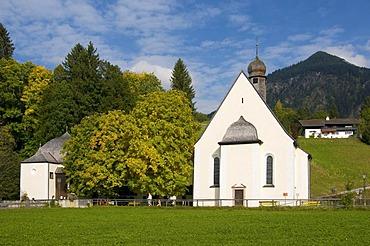 Church of St. Loretto, Oberstdorf, Allgaeu, Bavaria, Germany, Europe