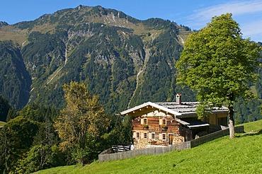 Gerstruben near Oberstdorf, Allgaeu, Bavaria, Germany, Europe