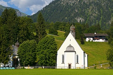 St. Loretto Chapel, Oberstdorf, Allgaeu, Bavaria, Germany, Europe