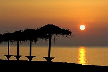 Morning mood on Santorini, Cyclades, Greece, Europe