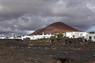 Fundacion Cesar Manrique, Manrique's former residence in Teguise, Lanzarote, Canary Islands, Spain, Europe
