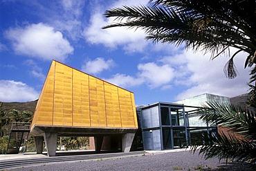 Visitor center Centro de Visitantes, modern architecture in San Sebastian, La Gomera, Canary Islands, Spain, Europe