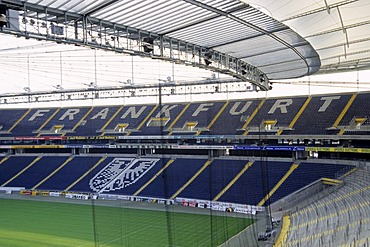 Football stadium of the Commerzbank-Arena, Frankfurt am Main, Hesse, Germany, Europe