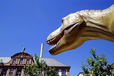 Dinosaurs at the Naturmuseum Natural History Museum, Senckenberg Museum, Frankfurt am Main, Hesse, Germany, Europe