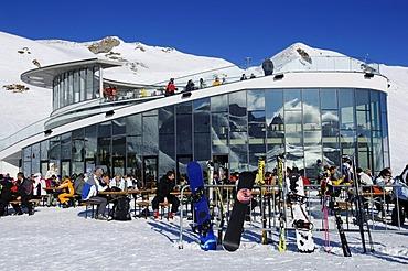 Salaas restaurant, Samnaun ski resort, Switzerland, Europe