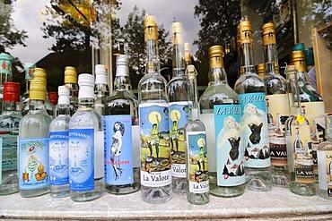 Absinthe liquor, Motiers, Val de Travers, canton Vaud, Switzerland, Europe