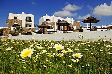 Hotel complex, Naxos, Cyclades, Greece, Europe