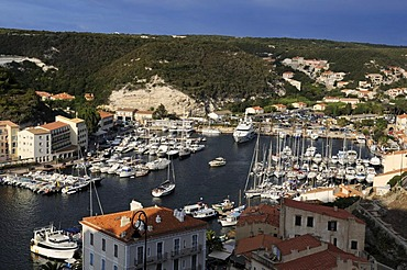 Port of Bonifacio, Corsica, France, Europe