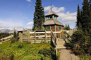 Mount Revelstoke Ranger Station, Meadows in the Sky, Revelstoke National Park, British Columbia, Canada