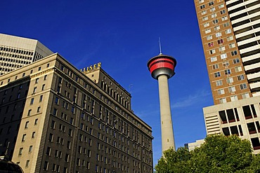 Calgary Tower, Innenstadt, Calgary, Alberta, Canada