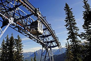 Funicular on Sulfur Mountain, Banff National Park, Alberta, Canada