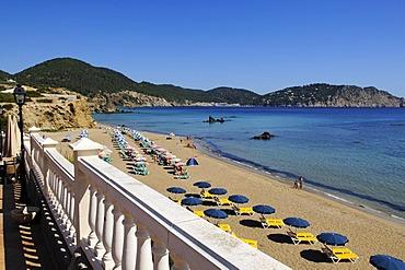 Hotel Invisa, Cala Blanca, Platja d'es Figueral, Ibiza, Pine Islands, Balearic Islands, Spain, Europe