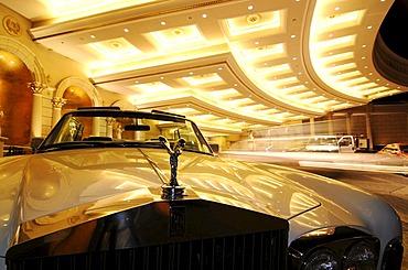 Rolls Royce, Caesar's Palace, Las Vegas, Nevada, USA