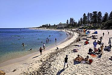 Cottesloe Beach foreshore, Perth, Western Australia