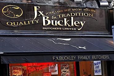 FX Buckley Butchers, Dublin, Ireland, Europe