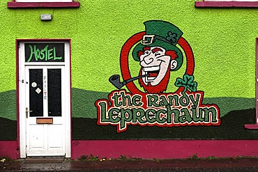 The Randy Leprechaun Hostel, Dingle, County Kerry, Ireland, Europe
