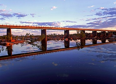Northwest Highway bridge, Ashburton River, Pilbara, Northwest Australia