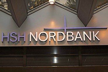 HSH Nordbank, financial crisis 2009, branch in Hamburg, Germany, Europe