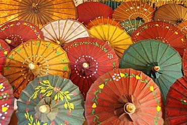 Paper umbrellas, Burma, Myanmar, Southeast Asia