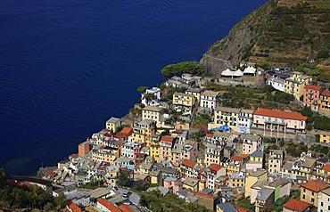 Riomaggiore, Cinque Terre region, Liguria, Italy, Europe