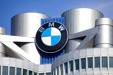 Headquarters of BMW AG, Munich, Bavaria, Germany, Europe
