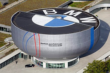 BMW Museum of the BMW AG in Munich, Bavaria, Germany, Europe