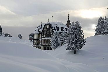 Pro Natura Centre, Riederfurka, UNESCO World Heritage Site, Aletsch Glacier, Valais, Switzerland, Europe