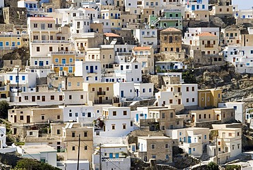 Mountain village of Olympos on the Greek island of Karpathos, Greece, Europe
