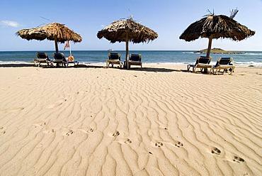 Boquita Beach near Playa Caribe on the island of Isla Margarita, Venezuela, South America