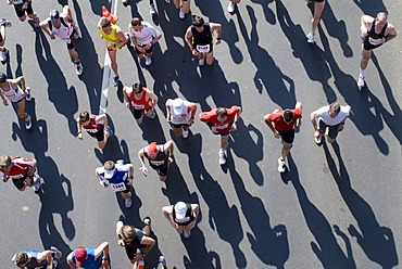 Metro Group Marathon 2008 in Duesseldorf, North Rhine-Westphalia, Germany, Europe