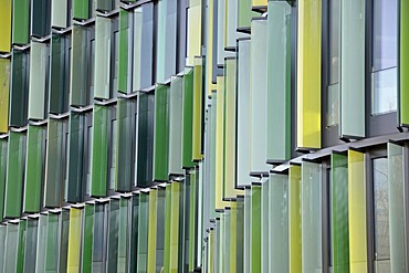 Cologne's first EU GreenBuilding, new office tower of the Deutsche Krankenversicherung, German Health Insurance, Cologne, North Rhine-Westphalia, Germany, Europe