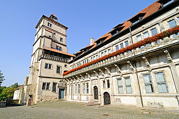 Schloss Brake castle, Weserrenaissance Museum, Weser Renaissance Museum, moated castle, Lemgo, East Westphalia Lippe, North Rhine-Westphalia, Germany, Europe