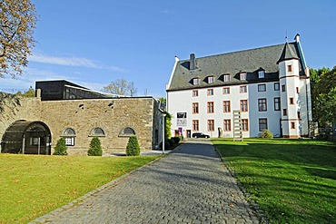 Ludwig Museum, Deutschherrenhaus mansion, historic building, Koblenz, Rhineland-Palatinate, Germany, Europe