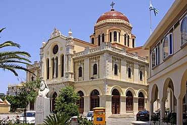 Large Minas Church, Heraklion or Iraklion, Crete, Greece, Europe