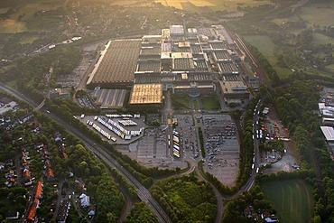 Aerial photo, Opel factory, Opel Werk 1, Bochum, car crisis, GM, General Motors, Bochum, Ruhrgebiet area, North Rhine-Westphalia, Germany, Europe