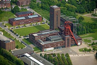 Aerial view, Nordstern industrial park BuGa MGG Treuhand, Buer, Gelsenkirchen, Ruhrgebiet area, North Rhine-Westphalia, Germany, Europe