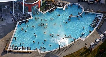 Aerial photo, Maximare, public swimming pool, spa, Hamm, Ruhrgebiet region, North Rhine-Westphalia, Germany, Europe
