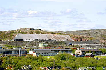 Iron ore dressing facility, Kirkenes, Norway, Scandinavia, Europe