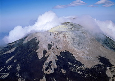Mount Etna, 3340 m, after the eruption 1981, Sicily, Italy, Europe