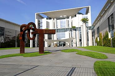 Bundeskanzleramt Federal Chancellery, Regierungsviertel governmental district, capital Berlin, Germany, Europe