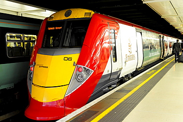 Gatwick Express, Victoria Station, London, England, United Kingdom, Europe