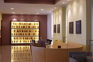 Hotel lobby in Umag, Istria, Croatia, Europe