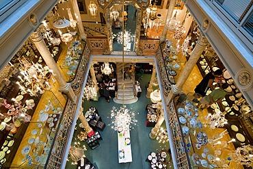 Traditional store Lobmeyr, Kaerntner Strasse, shopping street, Vienna, Austria, Europe