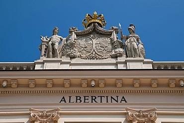 Albertina Palace, Vienna, Austria, Europe