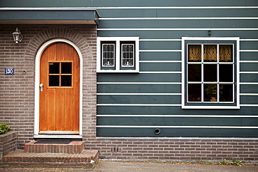 Detail of a Dutch country house